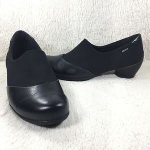 Ecco Loafers Gore-Tex Leather Waterproof Sz 38